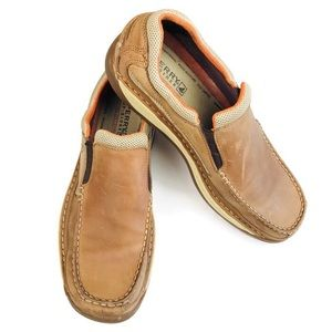 Sperry Top Sider Leather Slip On Loafers